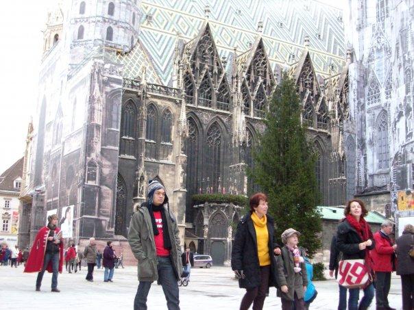 Pagi di hari Natal di Vienna
